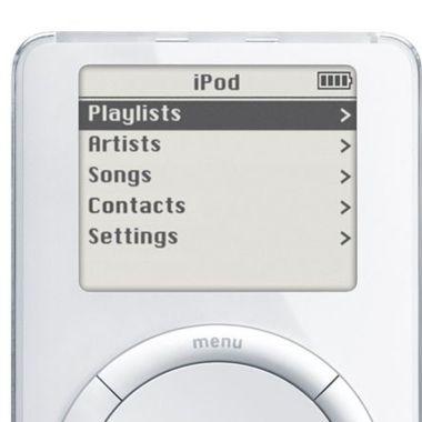 Ipod 20 años salida primera generacion