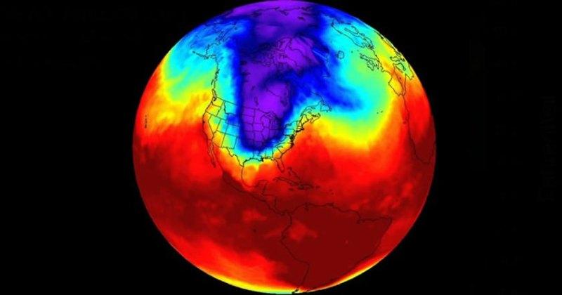 Preocupante: El vórtice polar se está desplazando