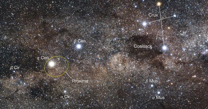Descubrimiento astronómico determina la órbita de Próxima Centauri tras 100 años