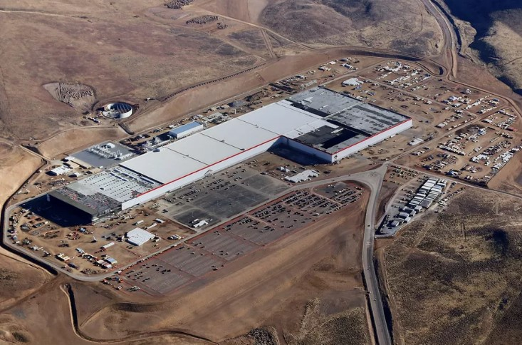 Gigafábrica de Tesla.