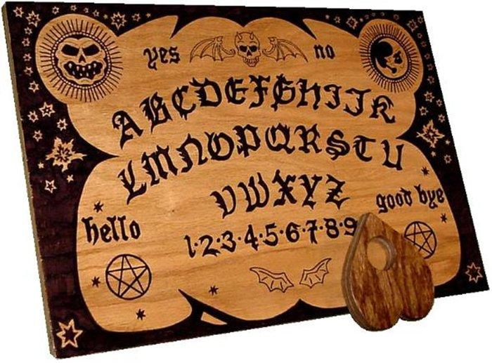 Tablero de Ouija modermo