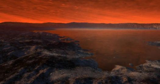 Experimentos muestran que los lagos de Titán producen burbujas por nitrógeno