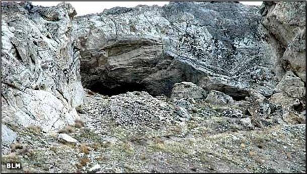 Exterior de la Cueva Lovelock