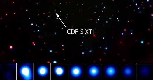 NASA observa una «explosión extraterrestre» utilizando el Observatorio de Rayos X Chandra