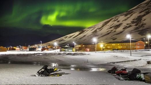 Este es el World Arctic Archive, localizado en Svalbard.
