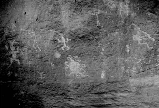 Petroglifos del Cañón del Chaco