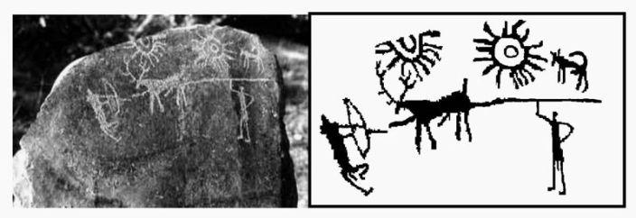 (ancient rock art of India)