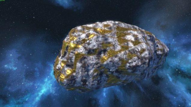 Resultado de imagen para asteroide oro