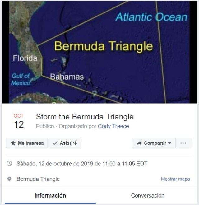 Olviden el Área 51: ahora quieren «invadir» el Triángulo de las Bermudas