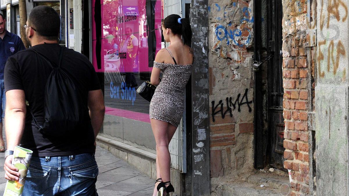 prostitutas en la calle q significa ramera