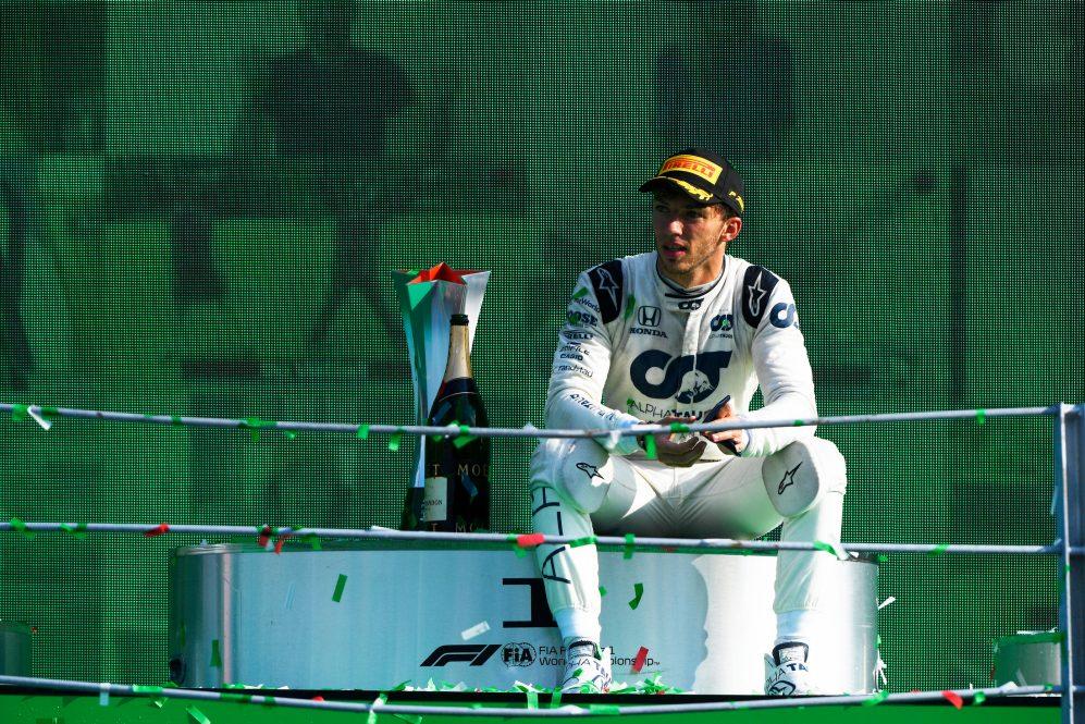 Pierre Gasly en Monza 2020