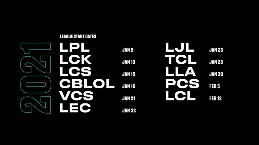 Temporada League of Legends 2021