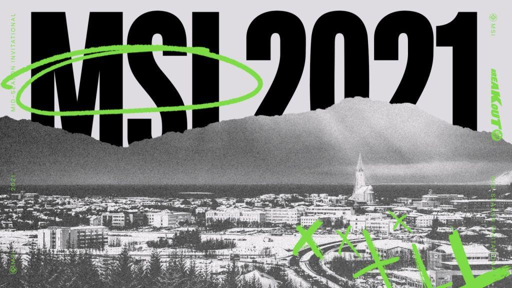 MSI 2021 | Fuente: Twitter @lolesports