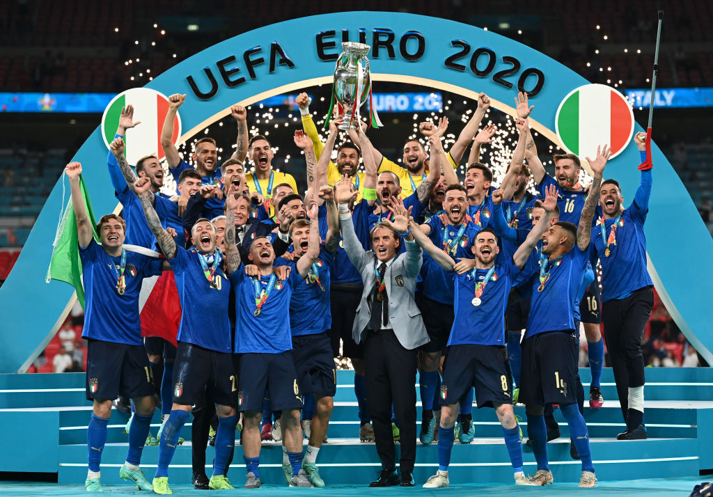Italia celebra la Euro 2020 | Fuente: Twitter @azzurri