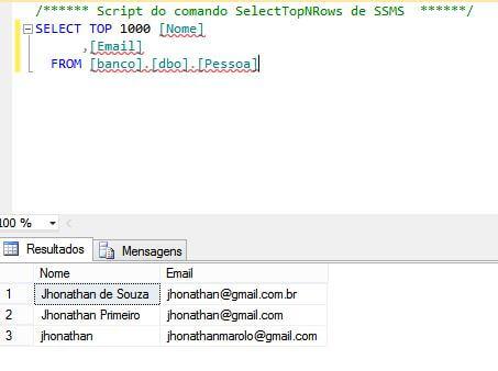 Como exportar consulta do SQL para Excel em csv - Código
