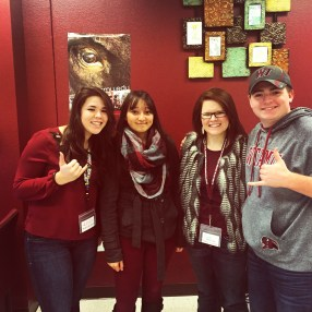 The Math Lab wears maroon on West Texas Wednesdays!
