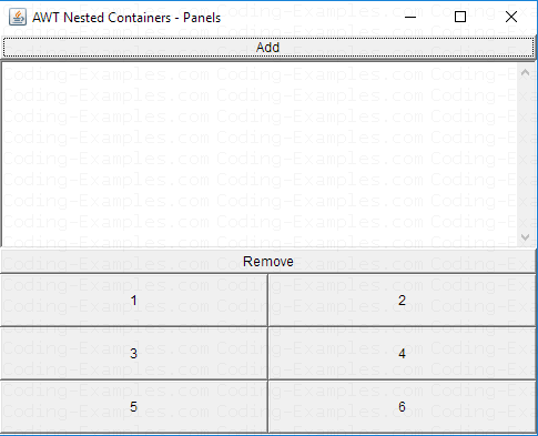 Nested Containers