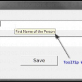 MFC ToolTip Example