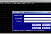 Client Activated Remote Objects - C# Dotnet Example