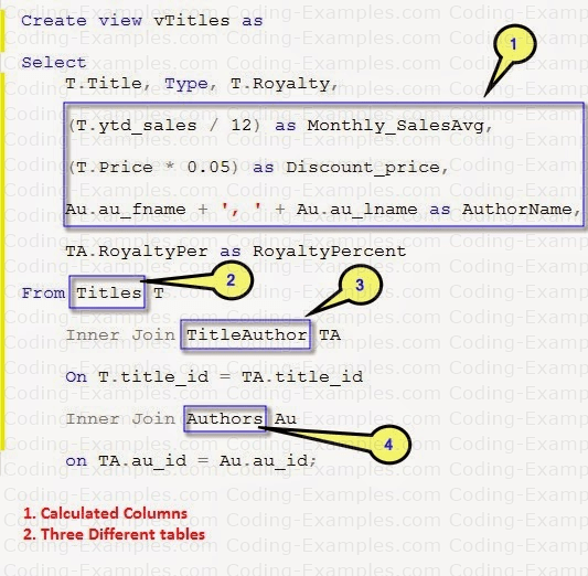 Joins and Calculated Columns