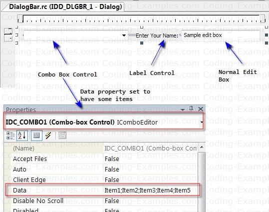 Setting-Up MFC DialogBar