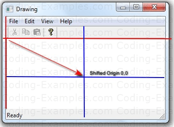 MFC Mapping Modes - Shifting the Drawing Origin
