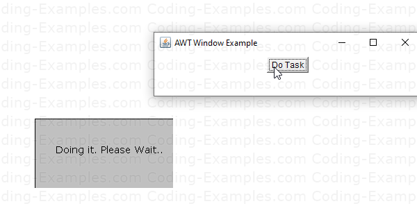 About the AWT Flash Window Example