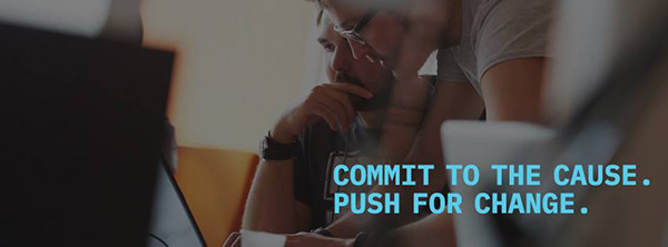 Commit to the cause coding image