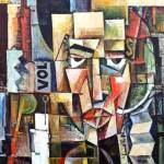 Victor Brauner: Portret of the poet Ilarie Voronca