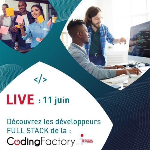 Live présentation de la Coding Factory