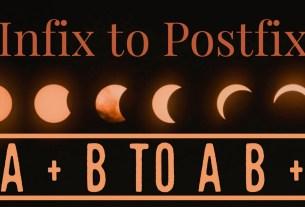 Infix to postfix Java code and explanation
