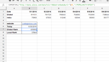 The complete guide on how to use Google sheets as a database