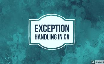 Exception Handling in C#
