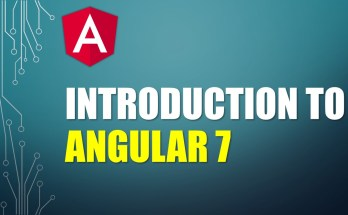 Angular 7 Introduction
