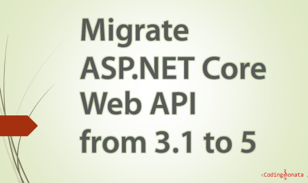 migrate asp.net core web api from 3.1 to 5