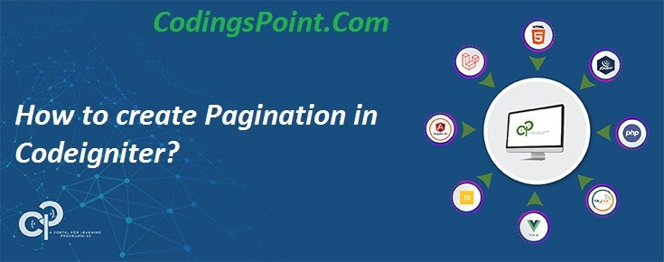 How to create Pagination in Codeigniter?