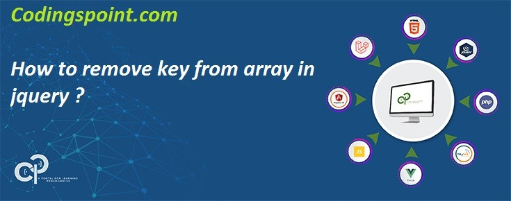 How to remove key from array in jquery