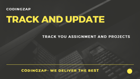 Track your Assignment and Project at codingzap