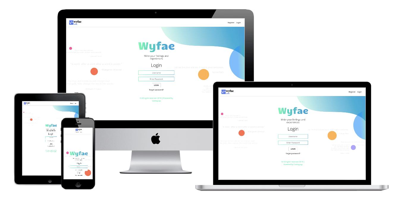 Project WYFAE portfolio