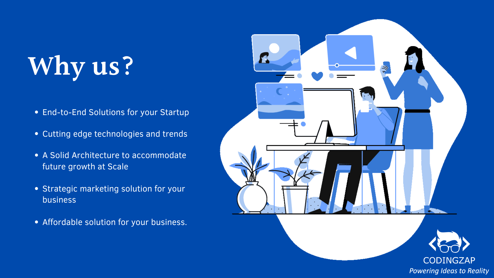 Why CodingZap for Startup bundle