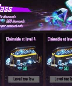 Free fire level up pass