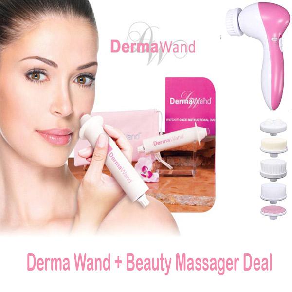 derma wand and face massager pakistan