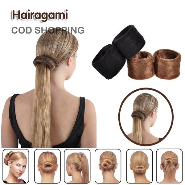 hairagami hair bun pakistan