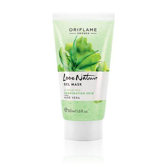 Oriflame Love Nature Gel Mask Aloe Vera Pakistan