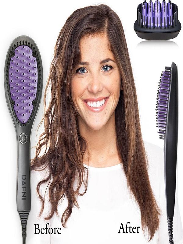 Dafni Hair Straightener Ceramic Brush Pakistan