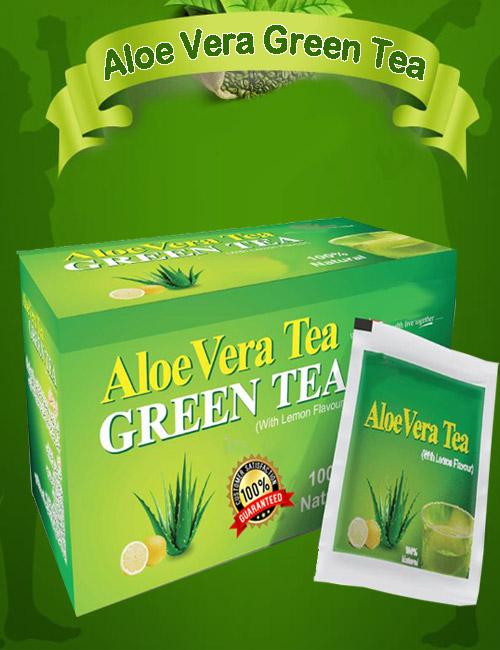 aloe vera green tea pakistan