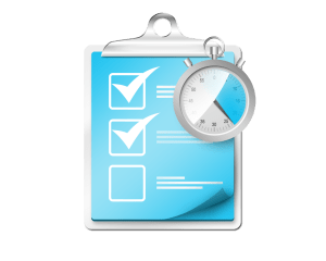 checklist-stopwatch-icon-psd