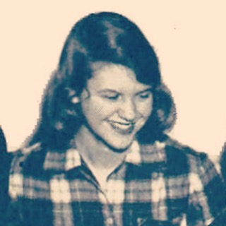 Smiling Sylvia Plath from the Smith Yearbook