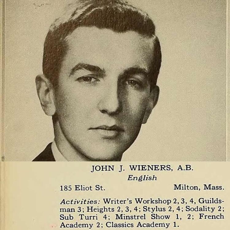Happy birthday John Wieners, even if you did help the Minstrel Show.