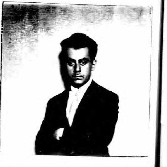Man Ray, Passport, 1921